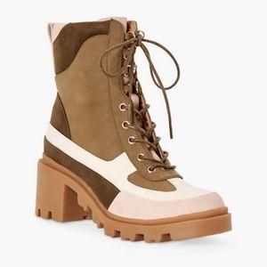🖤JustFab Olive Ankle Boots sz 9 NIB